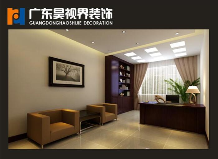 商丘宁陵邮政局办公楼内部设计